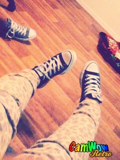 Taking Pictures Of My Converse