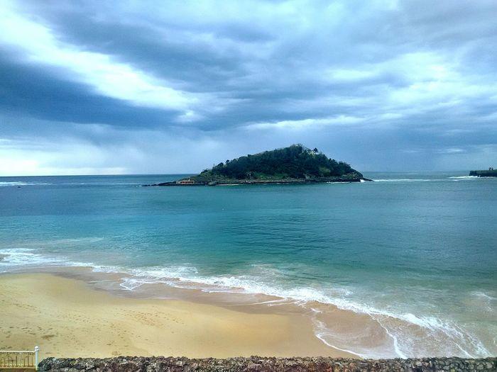 Santa klara huartea, isla santa clara. Santaclara Isla Donostia / San Sebastián