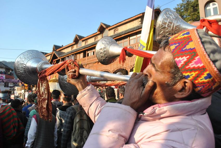 Men in traditional Himachali caps playing folk musical instruments during the Shivratri fair at Mandi, Himachal Pradesh Culture Cultures Festival Folk Music Folk Musicians Hill Culture Himachali Music Himachalitopi Music Musician People Person Tourism Traditional Travel Destinations Traditional Clothing Traditional Music Mandi People And Places The Culture Of The Holidays Celebration Hat Carnival Crowds And Details Millennial Pink EyeEm Diversity Visual Feast Sommergefühle Investing In Quality Of Life Perspectives On People The Traveler - 2018 EyeEm Awards The Street Photographer - 2018 EyeEm Awards