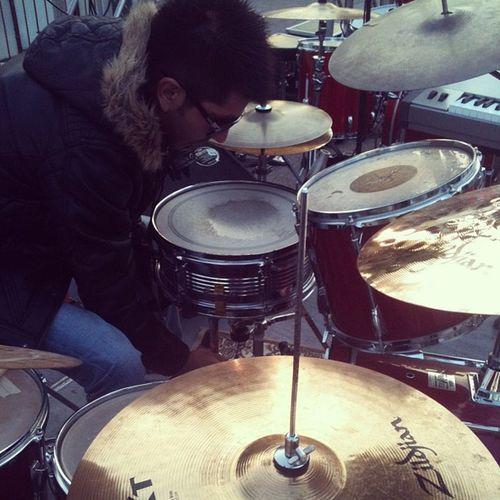 Soundcheck Drums Drumer Me Redo Sunglases Zildjian Yamaha Remo Sunshine