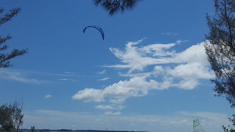 Parasailing kite Parasailing Kite Tampa Bay Day Tripping Florida Summertime Florida Afternoon Florida Life Florida Sky Out And About