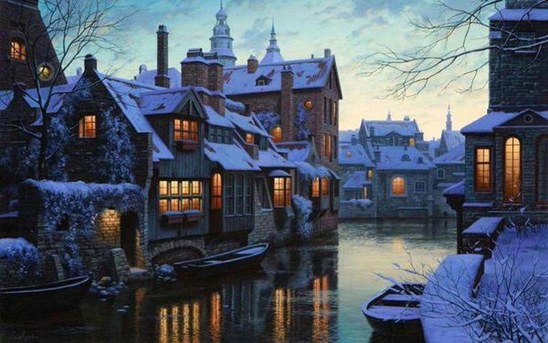 Belçika'da kış