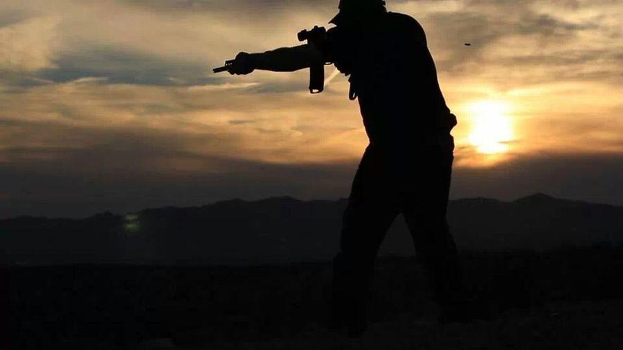 Taking Photos That's Me Check This Out Gun Range