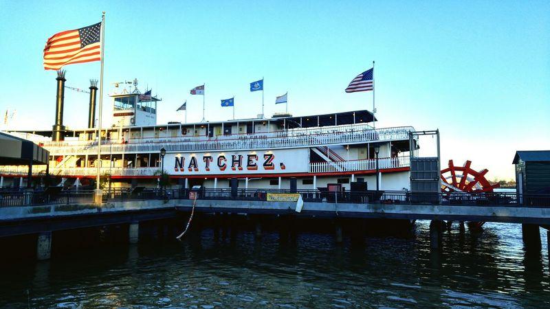 Steamboat Natchez Louisiana Mississippi River River Steamboat Boat Steamboat Natchez Natchez USA Flag US Flag American Flag Travel