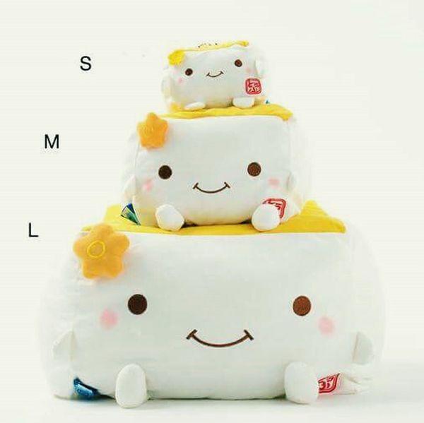 Hannari Tofu Tofu Toy Plush Cute Plush Toy