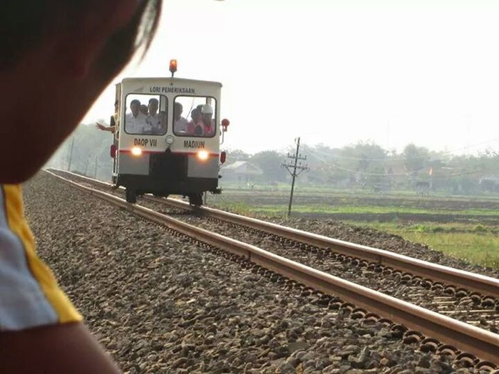 That's Me Hanging Out Train Tracks Indonesia_allshot