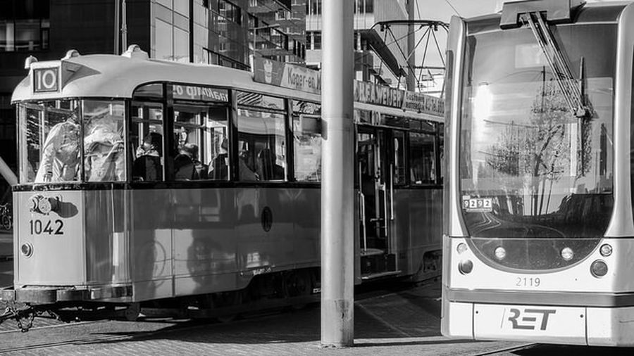 Streetphotography Black And White City Multiple Layers