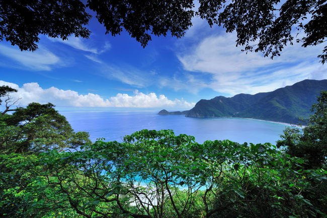 Hualien Taroko National Park, a mysterious trip Taroko National Park Clear Water Cliffs Suhua Highway Taiwan Beauty In Nature Blue Cloud - Sky Coastal Cool Feeling Day Green Color Mountain Nature No People Outdoors Peaceful Scenics Sky Tranquil Scene Tranquility Tree Water
