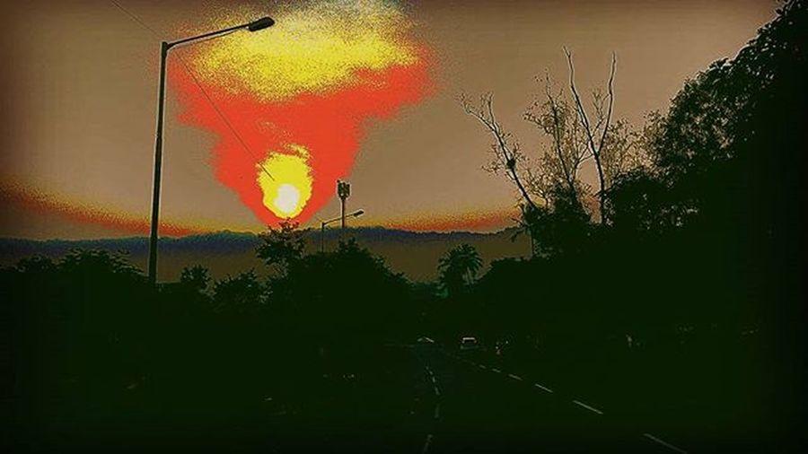 Samsung S3neo Sunset Posterize Mode Samsungholic MyClick