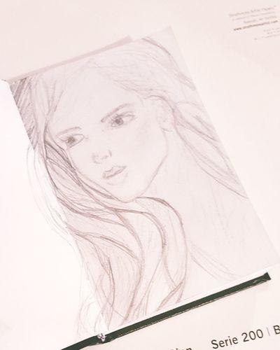 In a dream Sketch Sketchoftheday  Sketch Art Sketchbook Helasart