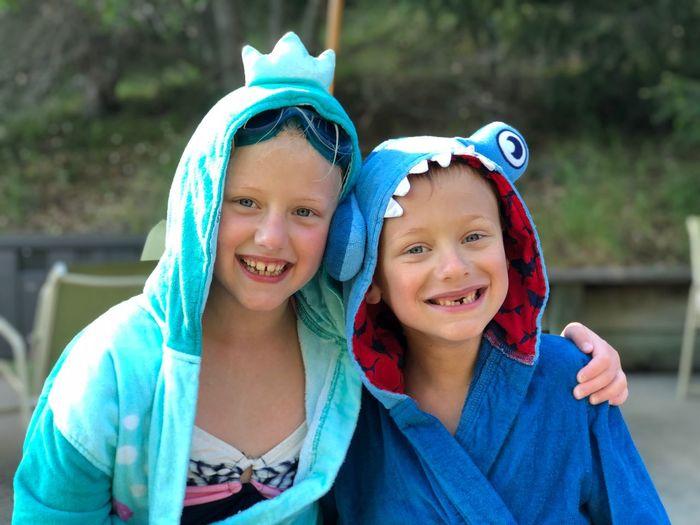 Happiness Swimming Summer Siblings Children Kids Portrait The Mobile Photographer - 2019 EyeEm Awards