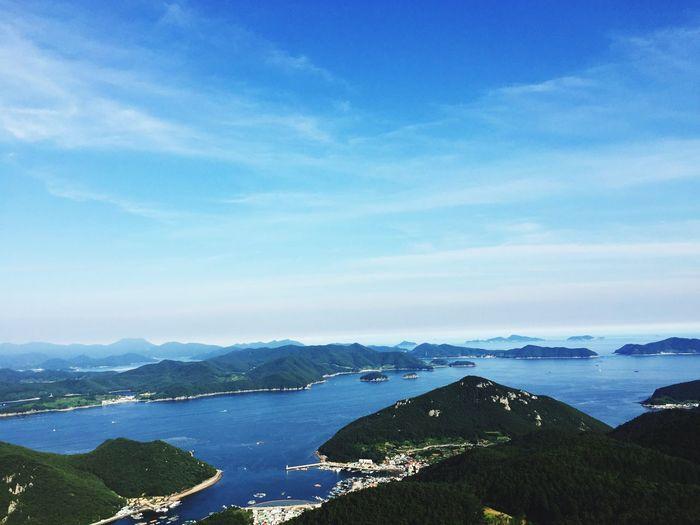 Tongyoung 통영 South Sea South Korea Tongyoung Sea Blue