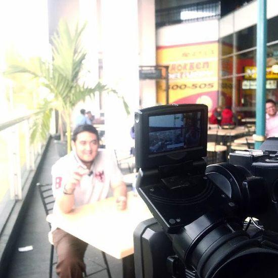 "Syuting ""Kuliner Enak"" referensi makanan enak Kulinerbandung Bandungjuara Televisinet"