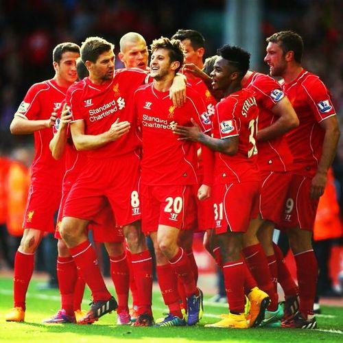 It is our age, guys! Lfc Liverpool Adam Lallana Stevengerrard