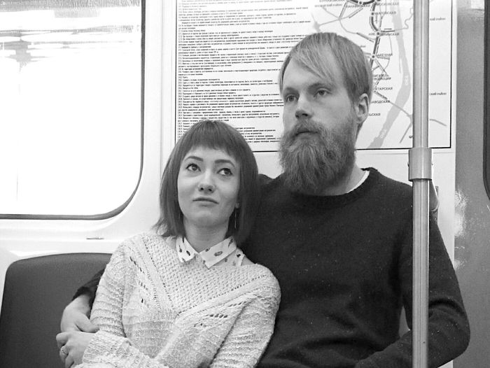 Mobilephotography People Watching Public Transportation Underground Metro Commuting Blackandwhite