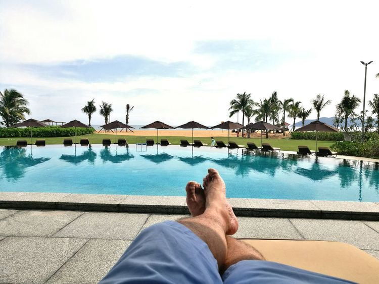 Relaxation Vacations Swimming Pool Water Huế Hue, Vietnam