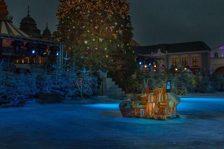 Winterzauber im Phantasialand.... Phantasialand Winterwonderland
