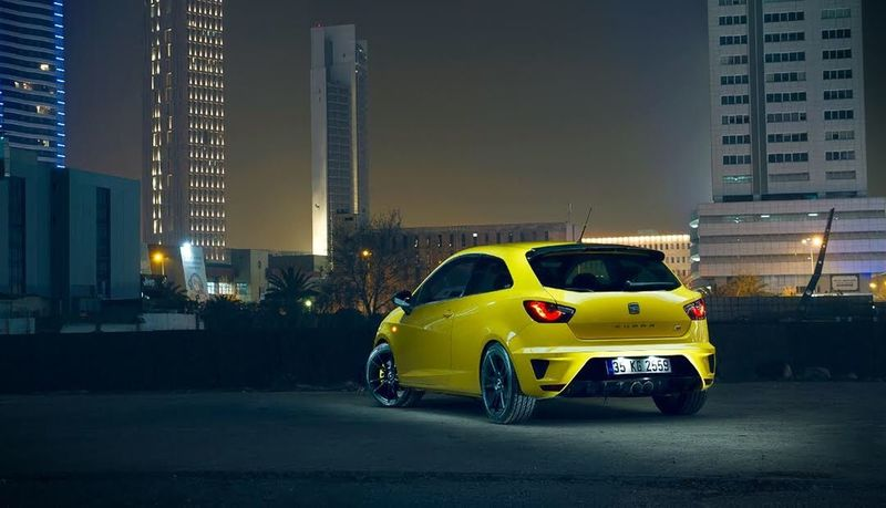 Cupra Cupra Ibiza Seat Car Taxi Yellow Taxi Skyscraper Transportation Mode Of Transport City Architecture Building Exterior Land Vehicle Night Yellow Road Built Structure Illuminated Outdoors No People