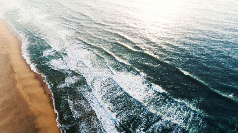 Far South Beach Flowing Water Outdoors Scenics - Nature Sea Surfing Water