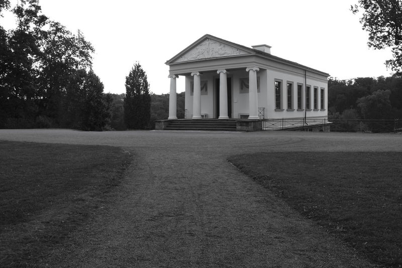 Morning Light UNESCO World Heritage Site Architecture Blackandwhite Building Clear Sky Day No People Outdoors Park Román House Römisches Haus Weimar R