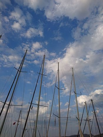 Cloud - Sky Sky Outdoors Blue Day Nautical Vessel Nature No People Water