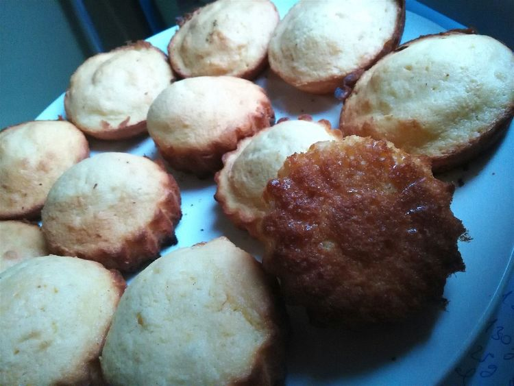 My first try at madeleines Food Baking Madeleines Homemade Dessert Tea Time