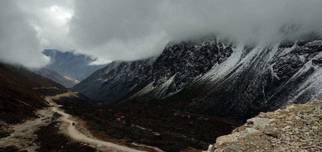 kala patthar 😍😍😍😘😘😘 Sikkim KalaPatthar India Mountain Snow Winter Sky Landscape Cloud - Sky Snowcapped Mountain EyeEmNewHere
