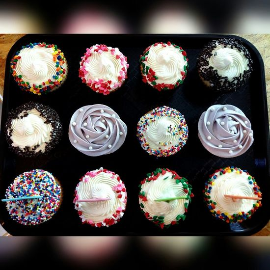Birthday Cupcakes made by me🙆 my little happiness 😊