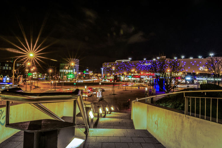 Long Exposure Longexposure Langzeitbelichtung EyeEm Best Shots City Street City Lights Cityscape Nikon D7200 Ruhrgebiet Ruhrpott Ruhrpottromantik Architecture Building Exterior Built Structure City Illuminated Night No People Outdoors Sky The Graphic City Mobility In Mega Cities Building High Street Promenade Office Building Residential Structure Urban Scene TOWNSCAPE Town Stories From The City The Street Photographer - 2018 EyeEm Awards The Great Outdoors - 2018 EyeEm Awards The Architect - 2018 EyeEm Awards HUAWEI Photo Award: After Dark Capture Tomorrow Moments Of Happiness