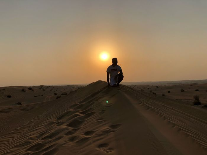 Sand Sunset