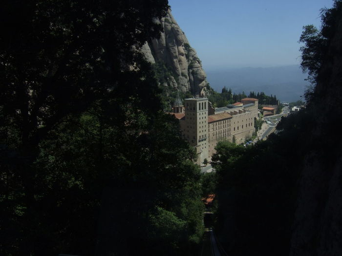 Architecture Cliff High Vantage Historical Holiday Monastery Mountain Touring