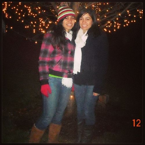 TBT  Sisters Dontmindtheoutfit Winter lasalette 2011
