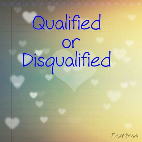 Like This Post For A Qualified Or Disqualified :) Strangers Welcomed .