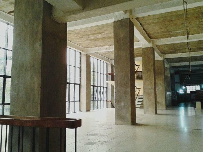 Retrofit Retrofitting Civil Engineering Structural Indoors  Built Structure Window Diminishing Perspective No People Columns And Pillars Manila, Philippines EyeemPhilippines EyeEmNewHere EyeEm Ready