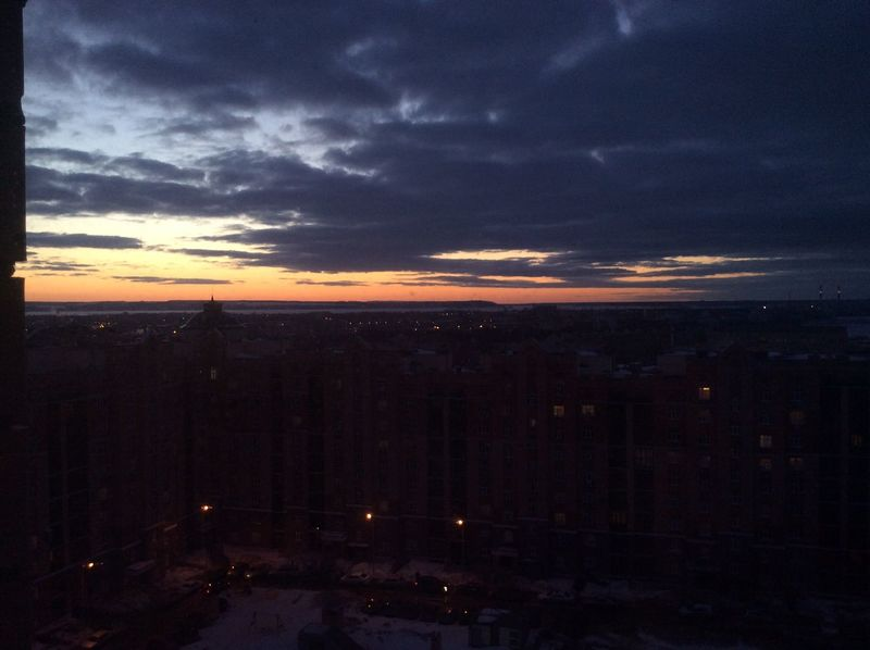 Sky Sky And Clouds Night