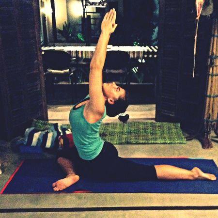 Pigeon Pose Yoga Yoga&Trainning Yoga Practice Yogaeverydamnday