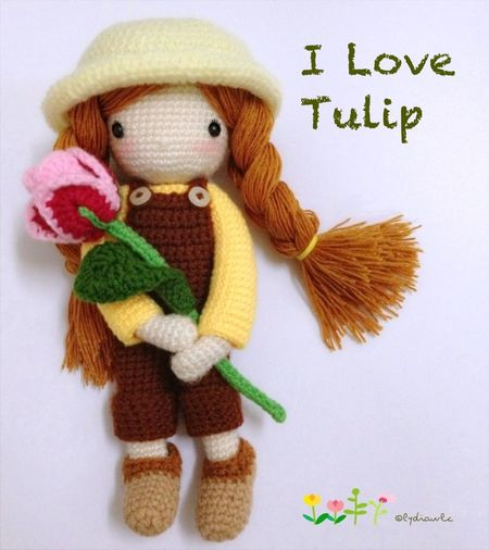 My Crochet doll (no.1) @ I Love Tulip Crochet Crocheting My Crochet Creations My Crochet Doll