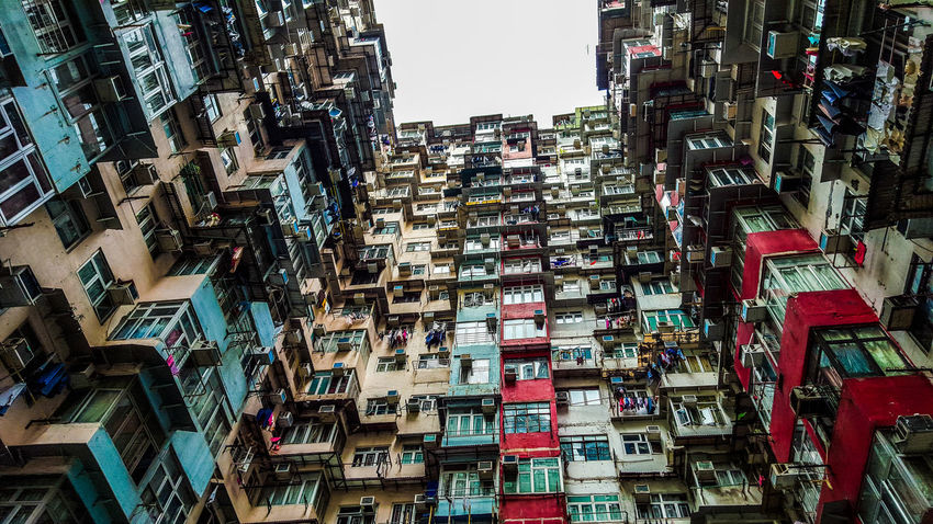 Yick Fat Building 3/3 Apartment Architecture Architecture_collection Battle Of The Cities Building Exterior Built Structure City City Life Cityscapes Crowded Eye4photography  EyeEm Gallery Hong Kong On The Road Residential District Residential Structure Skyscraper Street Photography Streetphotography Travel Traveling Urban Geometry Urban Landscape Urbanphotography Yick Fat Building Perspectives On Nature An Eye For Travel
