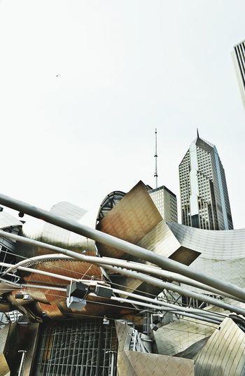 Jay Pritzker Pavillion Chicago Architecture Photowalk