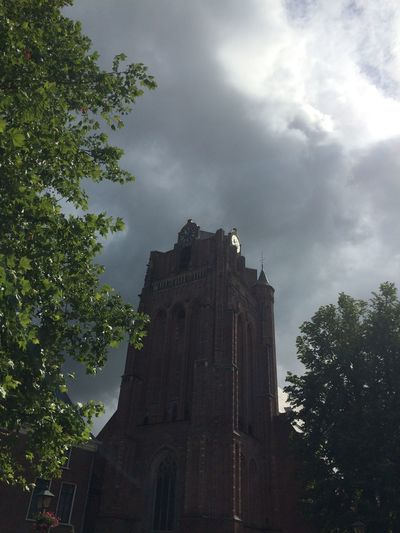 Church Dutch Nederlands Clouds And Sky Architecture Nature Tower