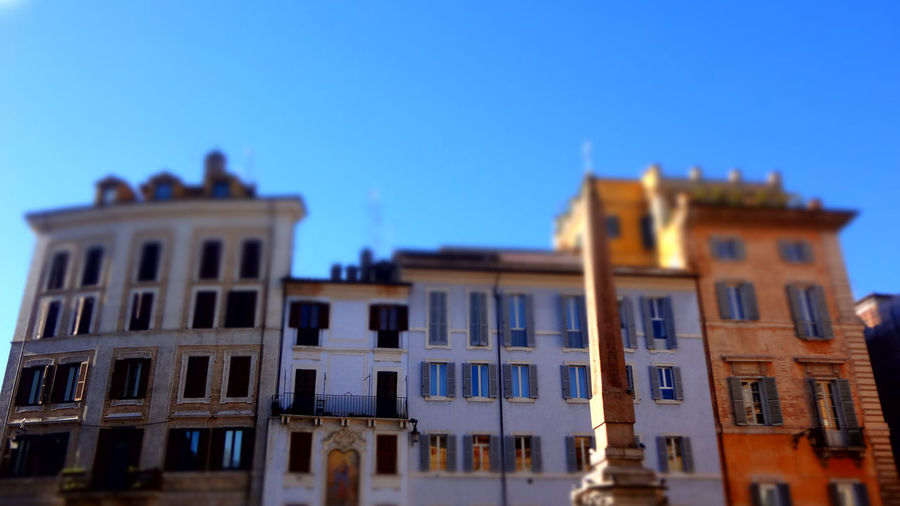 Architecture Architecture Building Exterior Clear Sky Day No People Outdoors Piazza Del Pantheon Roma