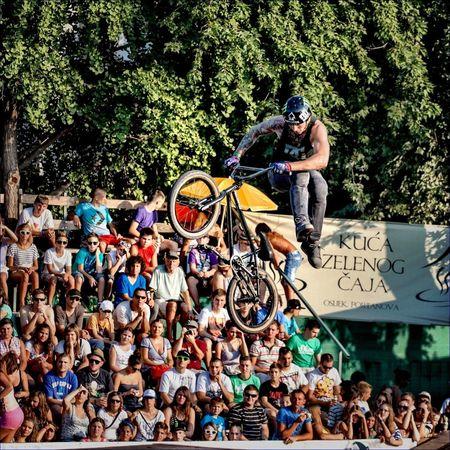 BMX action at Pannonian Challenge XIII Bmx  Pannonian Challenge Sports BMX Contest