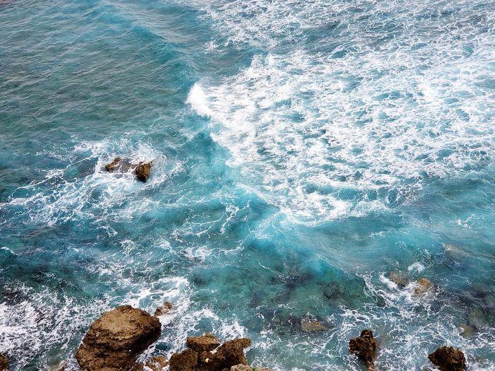 Perilous waves by the miyako islands