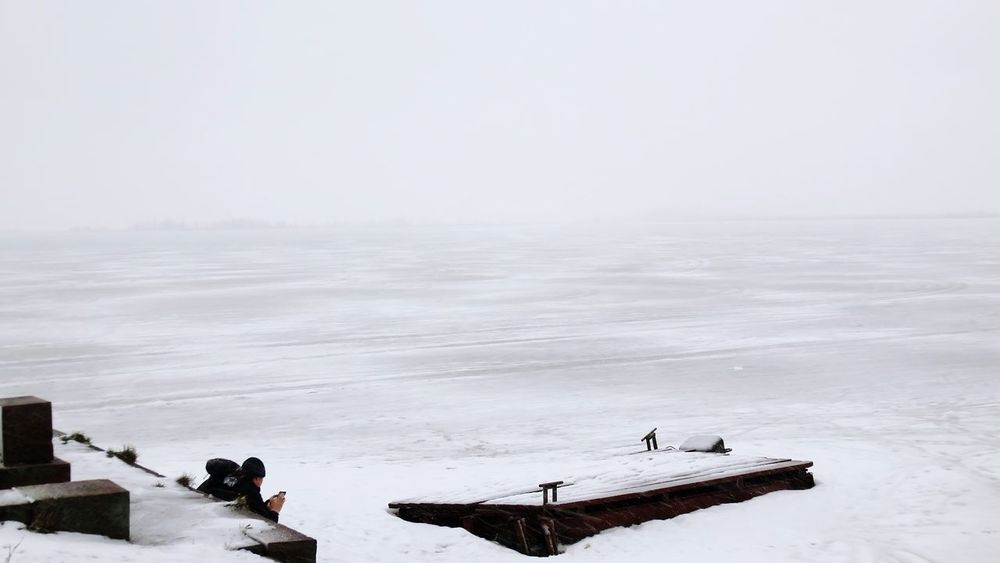 It's Cold Outside Q quiet Landscapes With WhiteWall