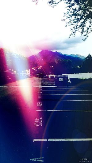 Beautiful Wasatch mountains shot from the parking lot Hugging A Tree Mountain View