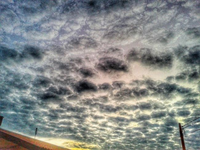 The Cloudy Sky over my HEAD. Nature Penapolis Brazil
