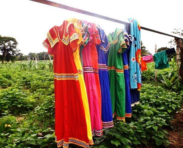 Dress Dresses Dresses Handmad Check This Out Taking Photos Vestido 👗 Vestido  Ngäbe Handmade Panamá Indígena