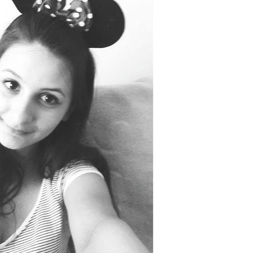 Minimouse Selfie ✌ Polishgirl Black & White