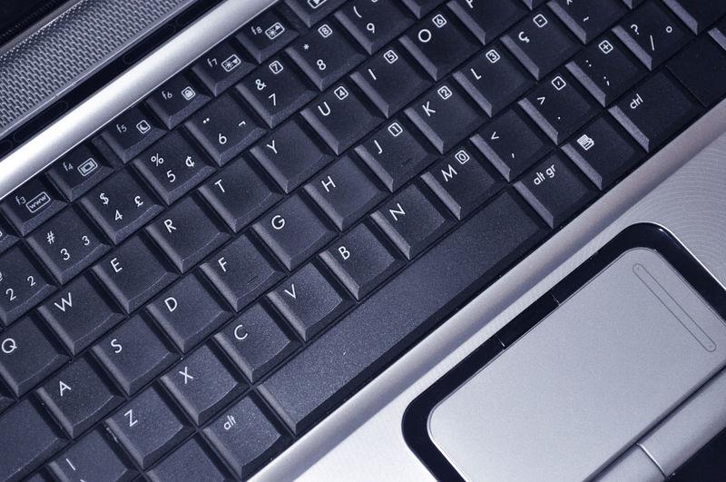 Laptop black