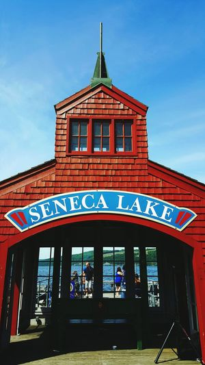 Seneca Lake SenecaLake Lake New York Exploring Adventure Red Outdoors Outdoor Photography Photography Subject Summer Summertime Pier Watkins Glen, NY